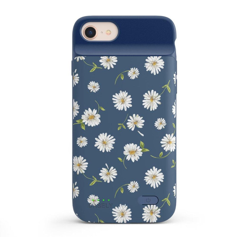 Daisy Daydream Navy Floral Case iPhone Case get.casely Power 2.0 iPhone SE (2020)
