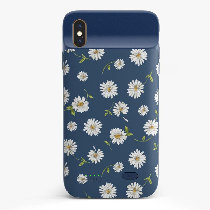 Daisy Daydream Navy Floral Case iPhone Case get.casely Power 2.0 iPhone XS Max