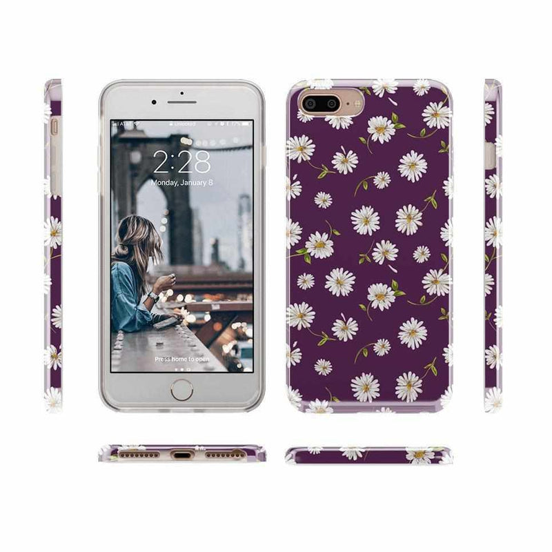 Daisy Daydream Plum Purple Floral Case iPhone Case Get.Casely