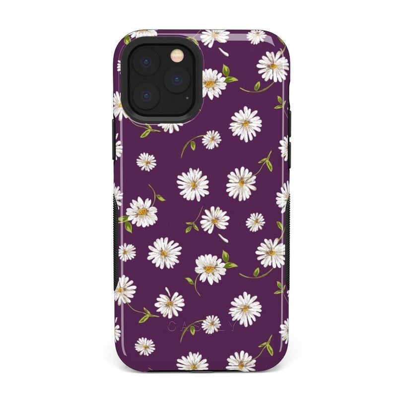 Daisy Daydream Plum Purple Floral Case iPhone Case Get.Casely Bold iPhone 11 Pro