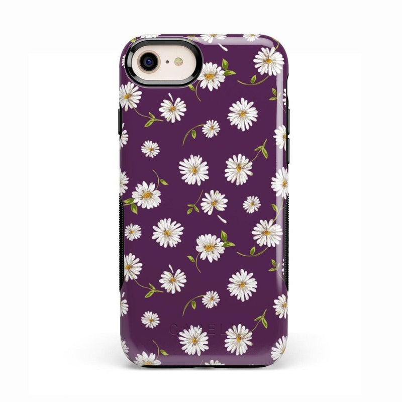 Daisy Daydream Plum Purple Floral Case iPhone Case Get.Casely Bold iPhone 8