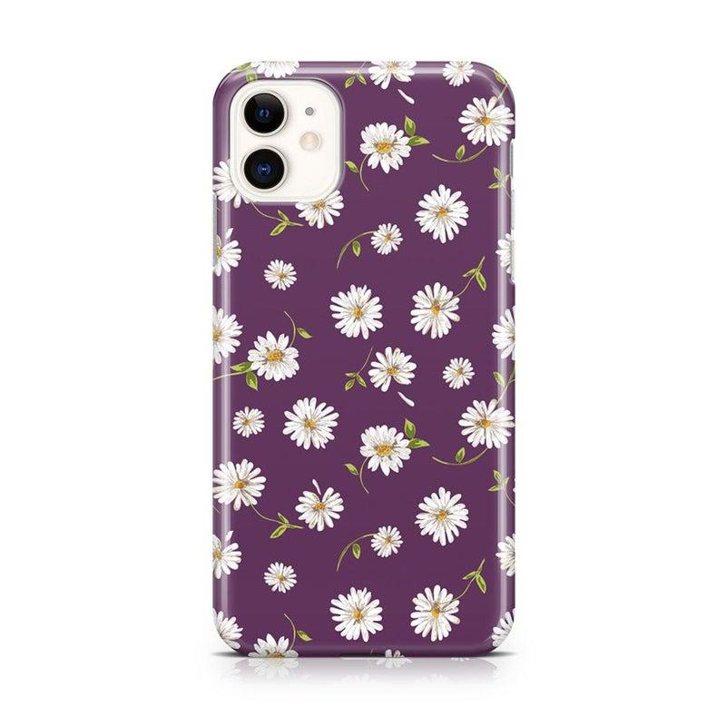Daisy Daydream Plum Purple Floral Case iPhone Case Get.Casely Classic iPhone 11