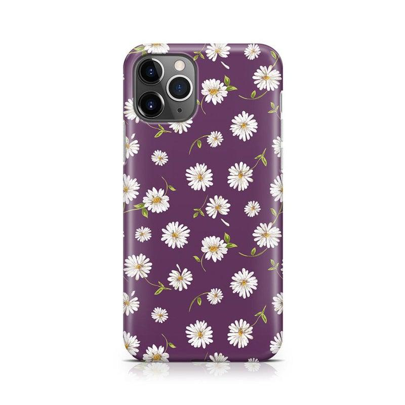 Daisy Daydream Plum Purple Floral Case iPhone Case Get.Casely Classic iPhone 11 Pro