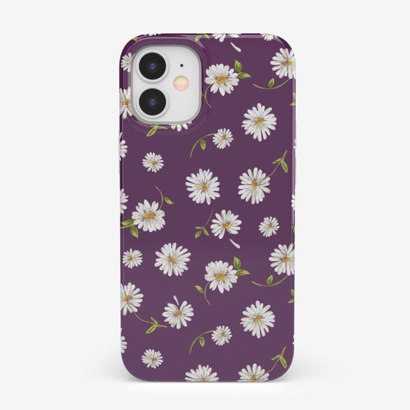Daisy Daydream Plum Purple Floral Case iPhone Case get.casely Classic iPhone 12 Mini