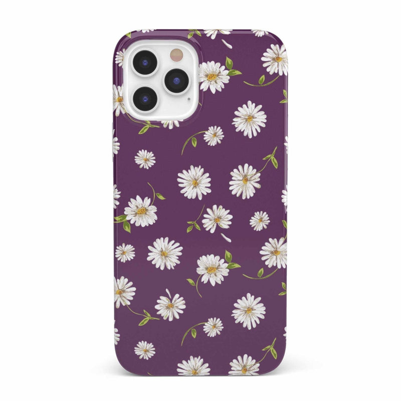 Daisy Daydream Plum Purple Floral Case iPhone Case get.casely Classic iPhone 12 Pro