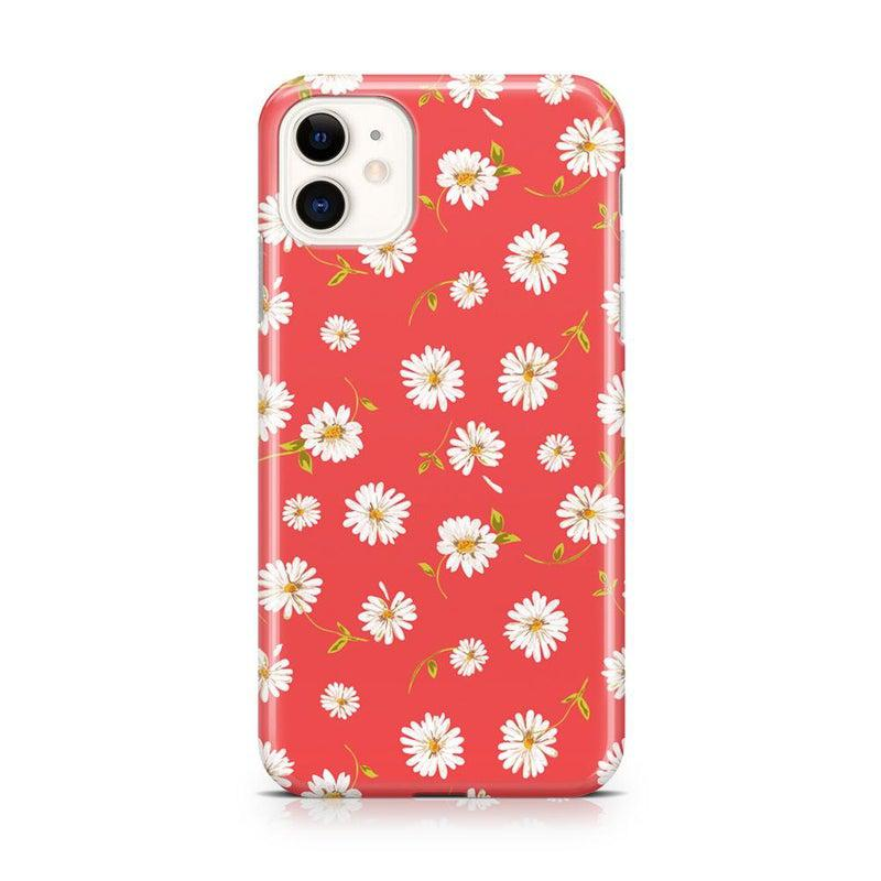 Daisy Daydream Red Coral Floral Case iPhone Case Get.Casely Classic iPhone 11