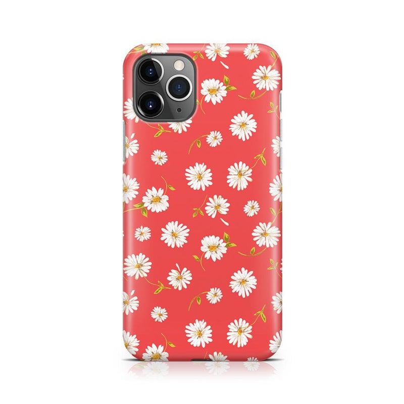 Daisy Daydream Red Coral Floral Case iPhone Case Get.Casely Classic iPhone 11 Pro