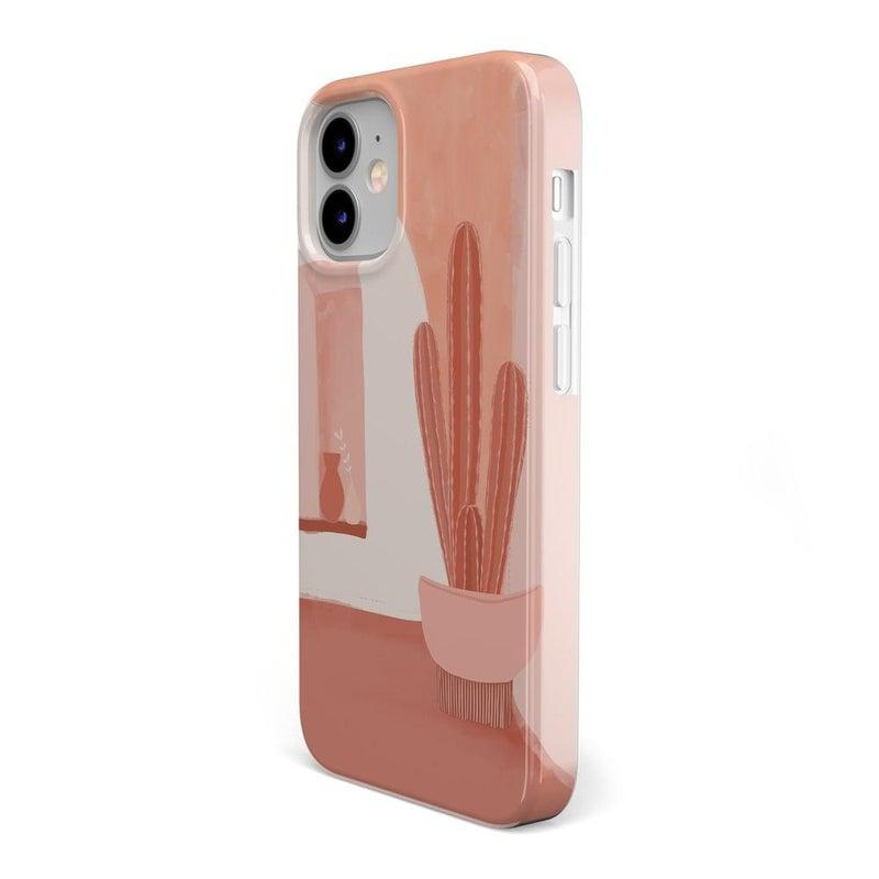 Desert Daze | Peachy Cactus Case iPhone Case get.casely