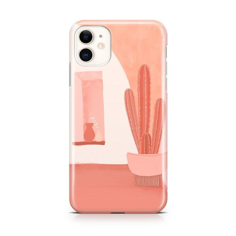 Desert Daze | Peachy Cactus Case iPhone Case get.casely Classic iPhone 11