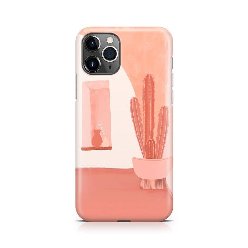 Desert Daze | Peachy Cactus Case iPhone Case get.casely Classic iPhone 11 Pro Max