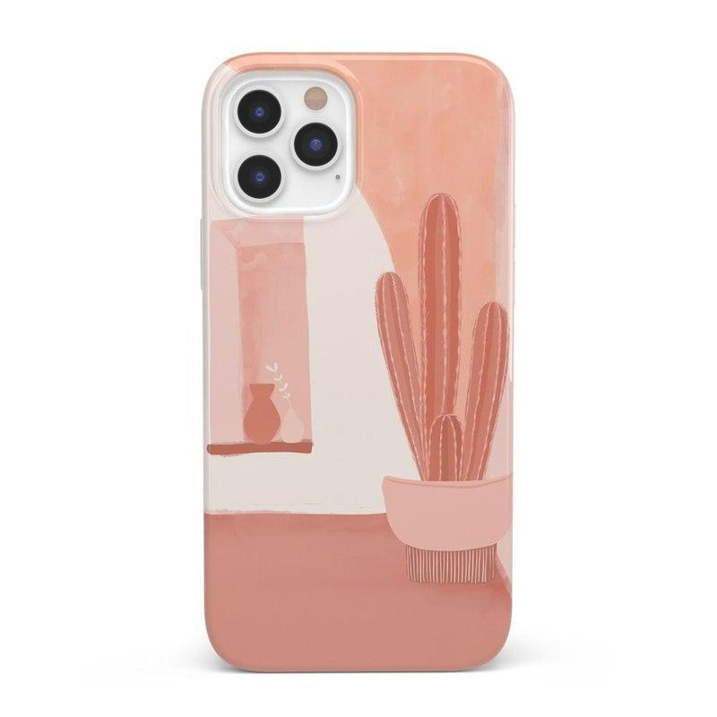 Desert Daze | Peachy Cactus Case iPhone Case get.casely Classic iPhone 12 Pro Max