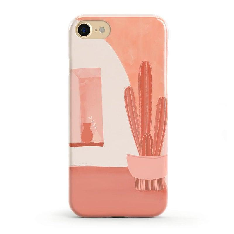 Desert Daze | Peachy Cactus Case iPhone Case get.casely Classic iPhone SE (2020)