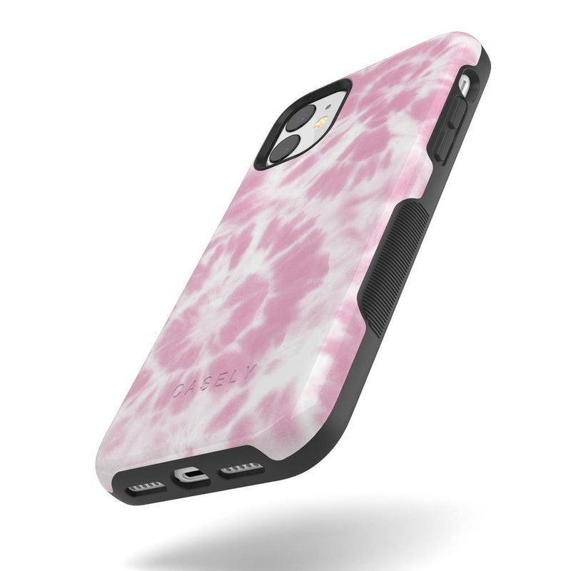 Down for Whatever | Light Pink Tie Dye Case iPhone Case get.casely