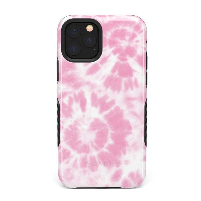 Down for Whatever | Light Pink Tie Dye Case iPhone Case get.casely Bold iPhone 11 Pro