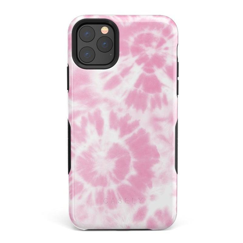 Down for Whatever | Light Pink Tie Dye Case iPhone Case get.casely Bold iPhone 11 Pro Max
