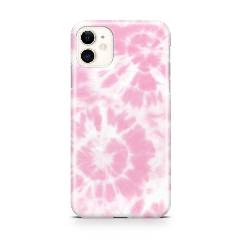 Down for Whatever | Light Pink Tie Dye Case iPhone Case get.casely Classic iPhone 11