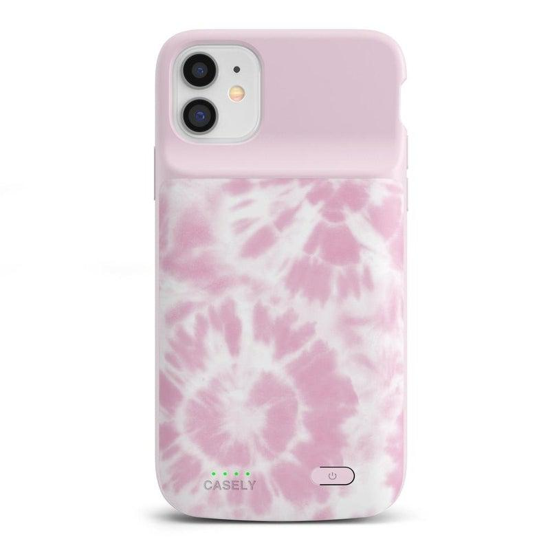 Down for Whatever | Light Pink Tie Dye Case iPhone Case get.casely Power 2.0 iPhone 11