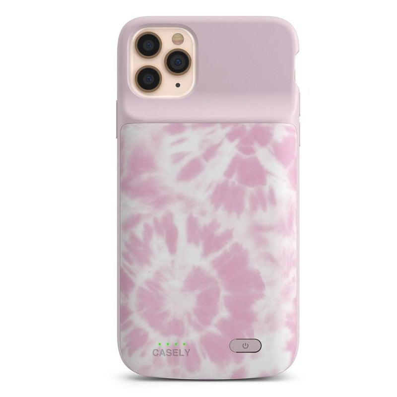 Down for Whatever | Light Pink Tie Dye Case iPhone Case get.casely Power 2.0 iPhone 11 Pro Max