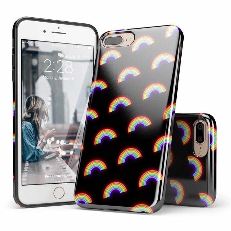 Endless Rainbows LED Print Case iPhone Case Get.Casely