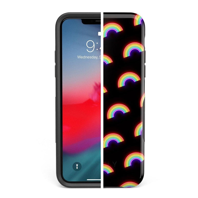 Endless Rainbows LED Print iPhone Case iPhone Case Get.Casely