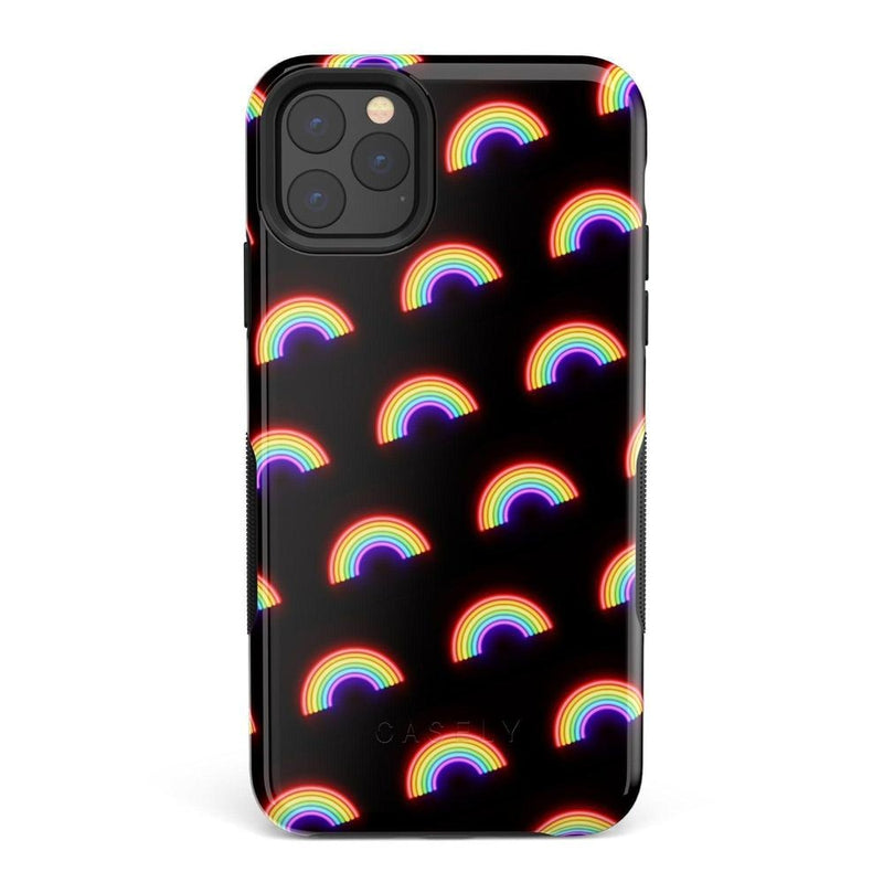 Endless Rainbows LED Print iPhone Case iPhone Case Get.Casely Bold iPhone 11 Pro