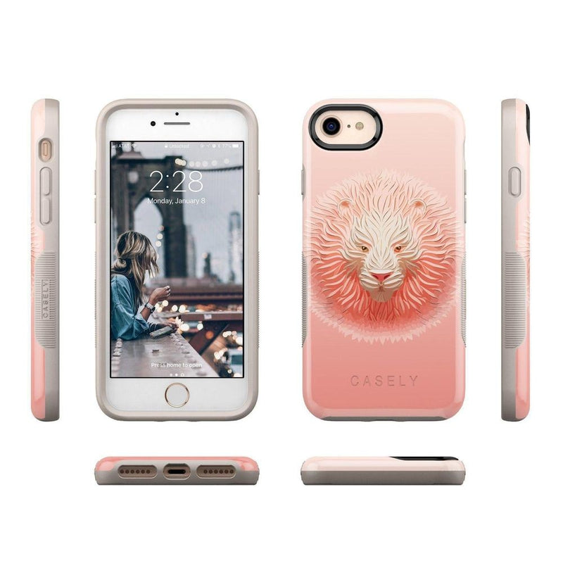 Eye of the Tiger Blush Nude Case iPhone Case get.casely