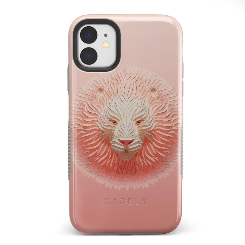 Eye of the Tiger Blush Nude Case iPhone Case get.casely Bold iPhone 11