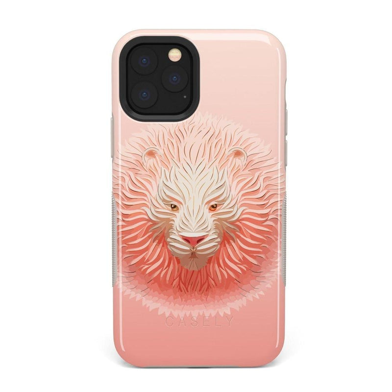 Eye of the Tiger Blush Nude Case iPhone Case get.casely Bold iPhone 11 Pro