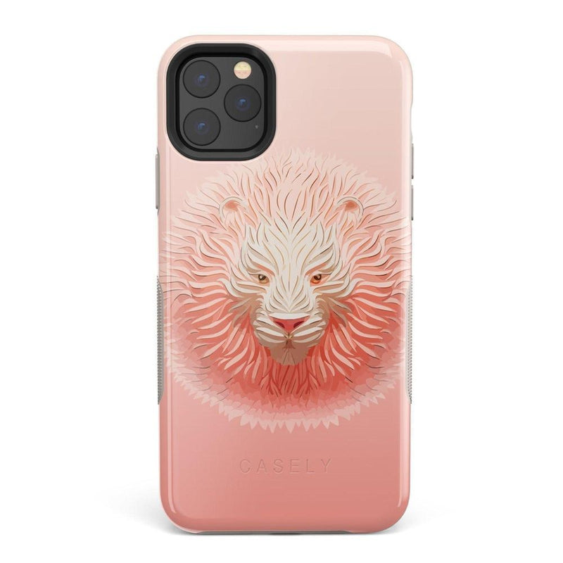 Eye of the Tiger Blush Nude Case iPhone Case get.casely Bold iPhone 11 Pro Max