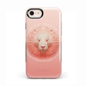 Eye of the Tiger Blush Nude Case iPhone Case get.casely Bold iPhone 8