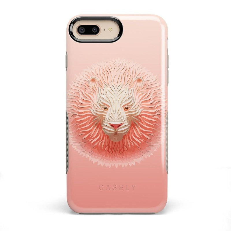 Eye of the Tiger Blush Nude Case iPhone Case get.casely Bold iPhone 8 Plus