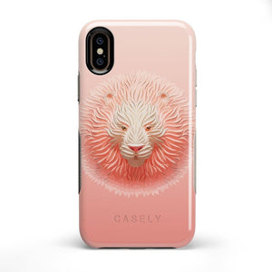 Eye of the Tiger Blush Nude Case iPhone Case get.casely Bold iPhone X / XS