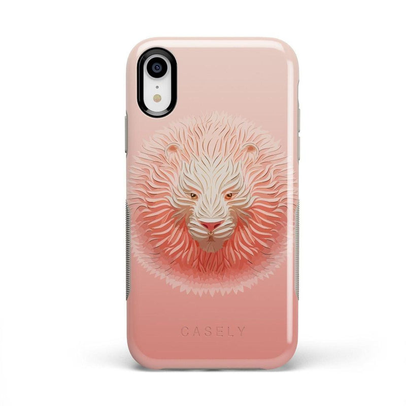 Eye of the Tiger Blush Nude Case iPhone Case get.casely Bold iPhone XR