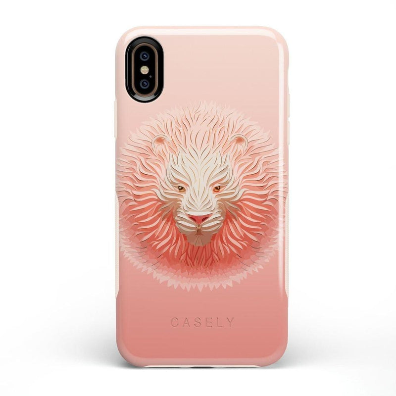 Eye of the Tiger Blush Nude Case iPhone Case get.casely Bold iPhone XS Max