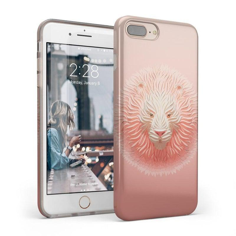 Eye of the Tiger Blush Nude Case iPhone Case get.casely Classic iPhone 8 Plus