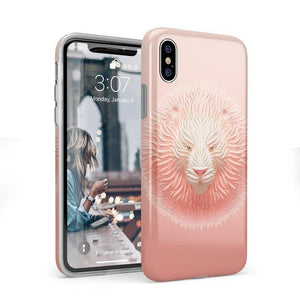 Eye of the Tiger Blush Nude Case iPhone Case get.casely Classic iPhone X / XS