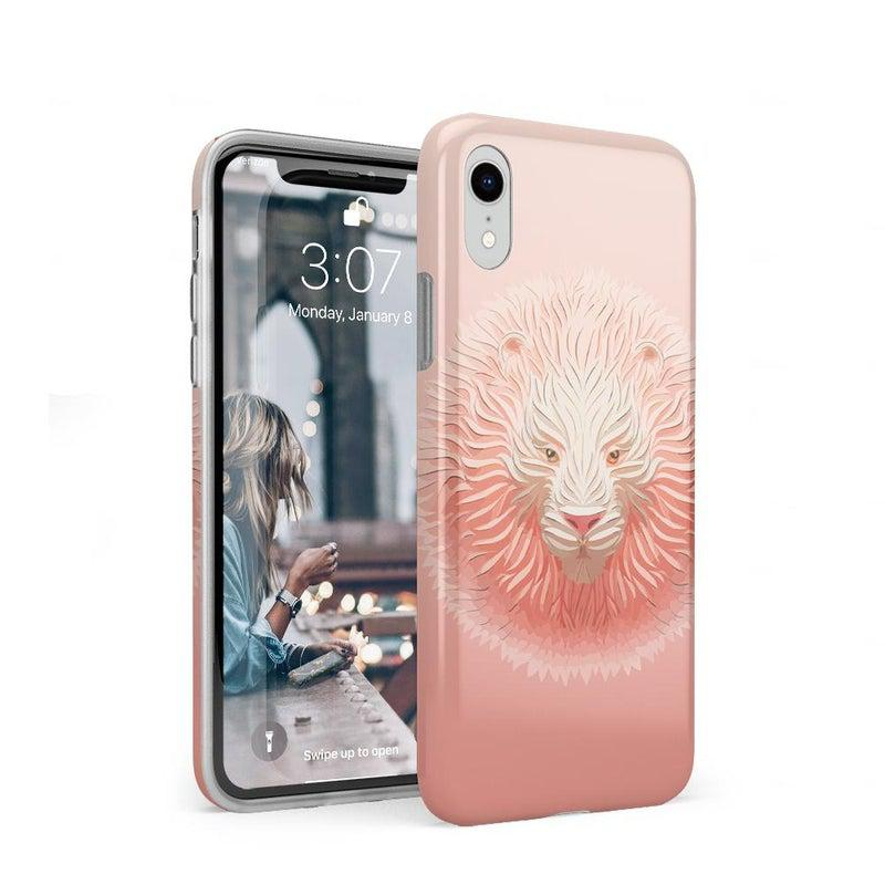 Eye of the Tiger Blush Nude Case iPhone Case get.casely Classic iPhone XR