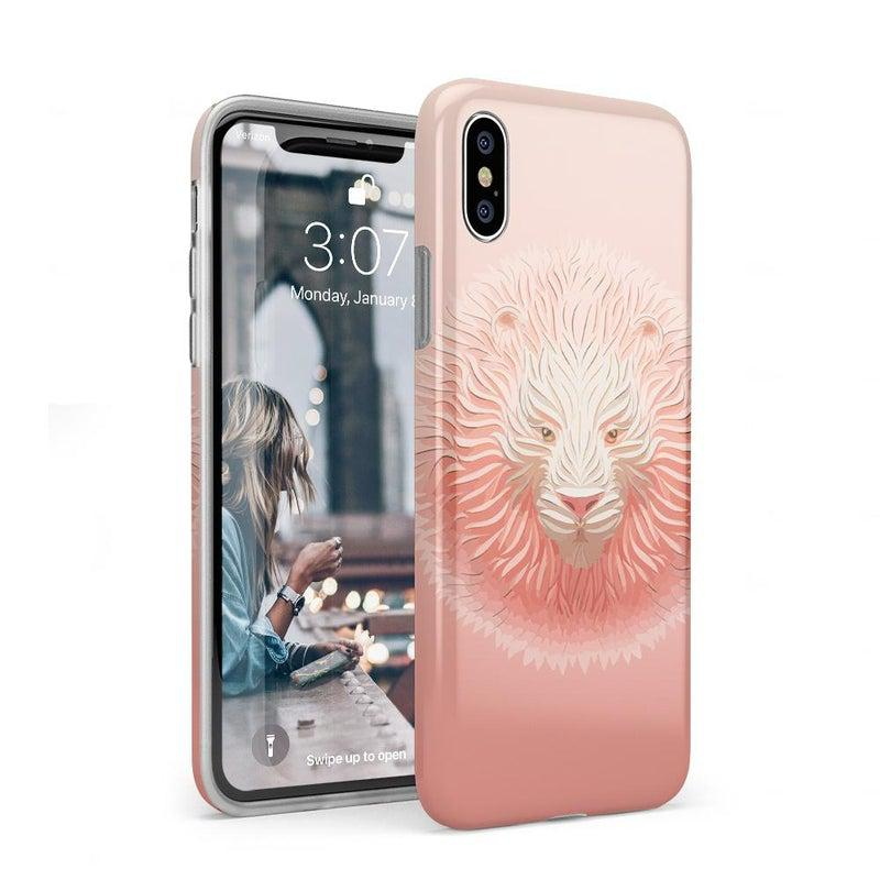Eye of the Tiger Blush Nude Case iPhone Case get.casely Classic iPhone XS Max