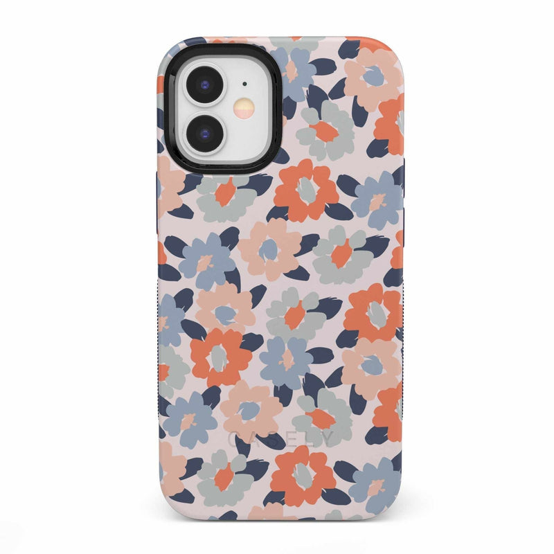 Field of Flowers | Pastel Floral Case iPhone Case get.casely Bold iPhone 12 Mini