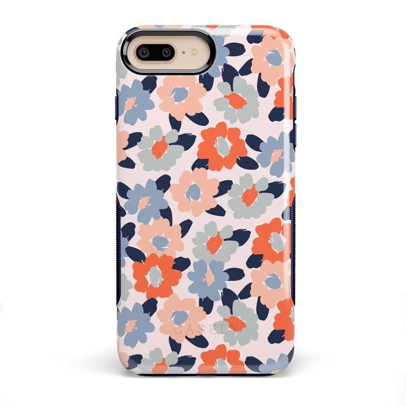 Field of Flowers | Pastel Floral Case iPhone Case get.casely Bold iPhone 8 Plus