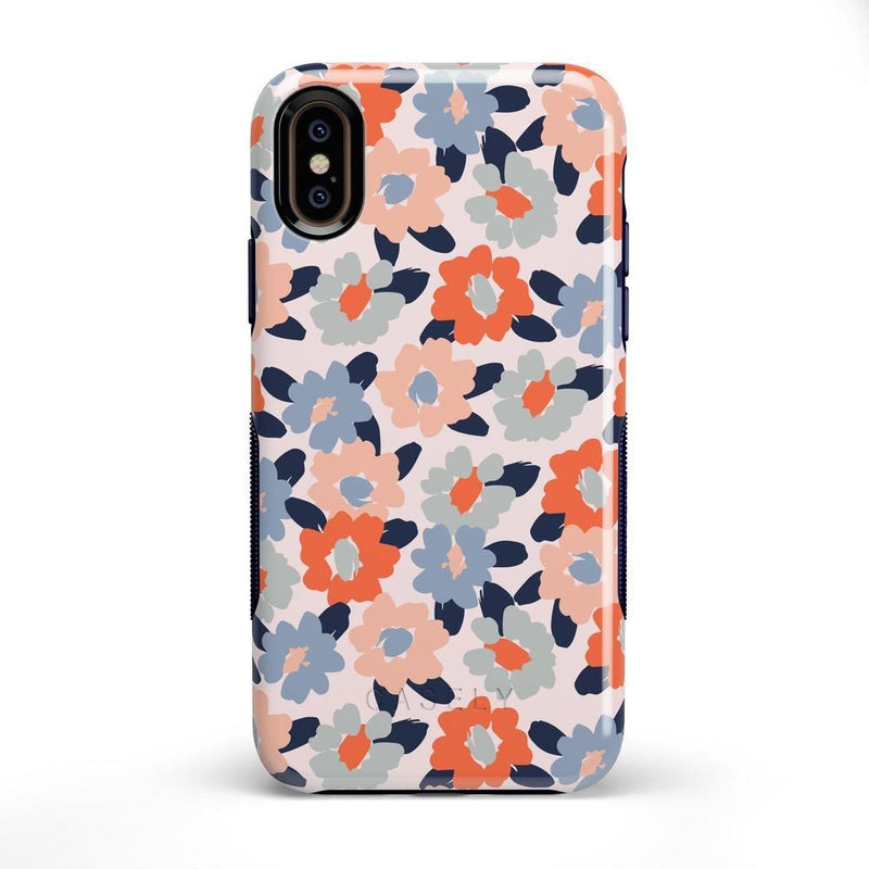 Field of Flowers | Pastel Floral Case iPhone Case get.casely Bold iPhone X / XS