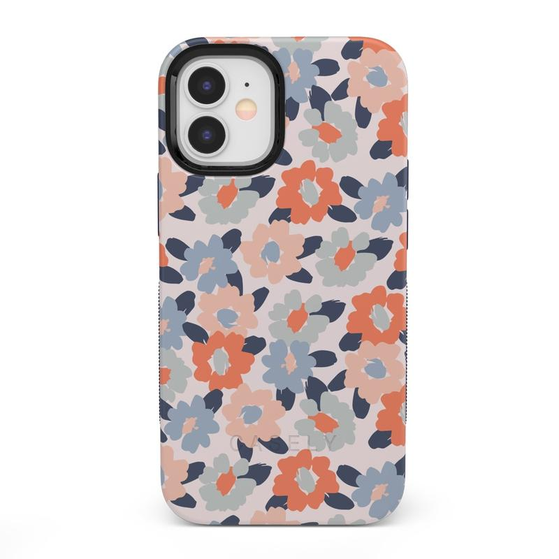 Field of Flowers | Pastel Floral Case iPhone Case get.casely Bold + MagSafe® iPhone 12