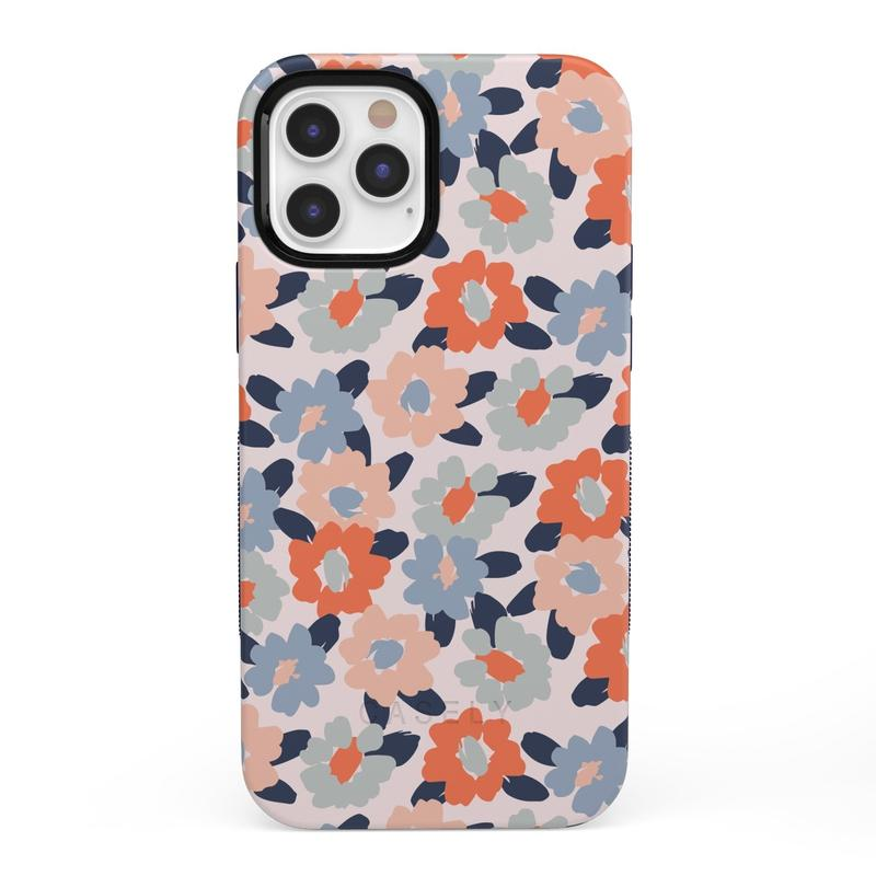 Field of Flowers | Pastel Floral Case iPhone Case get.casely Bold + MagSafe® iPhone 12 Pro Max