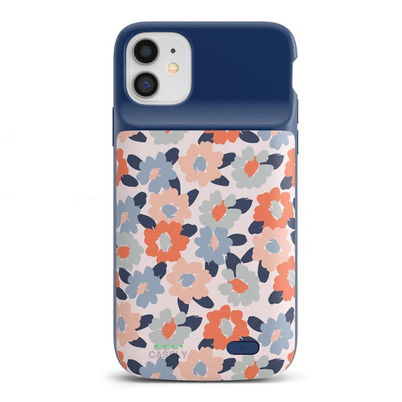 Field of Flowers | Pastel Floral Case iPhone Case get.casely Power 2.0 iPhone 11