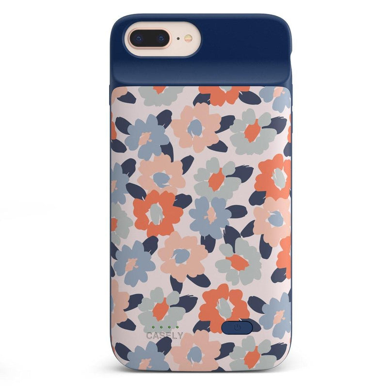 Field of Flowers | Pastel Floral Case iPhone Case get.casely Power 2.0 iPhone 8 Plus