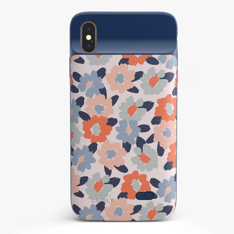 Field of Flowers | Pastel Floral Case iPhone Case get.casely Power 2.0 iPhone XS Max