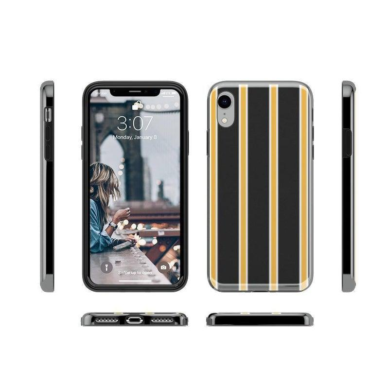 Fine Lines Mustard Yellow Pinstripe Case iPhone Case Get.Casely