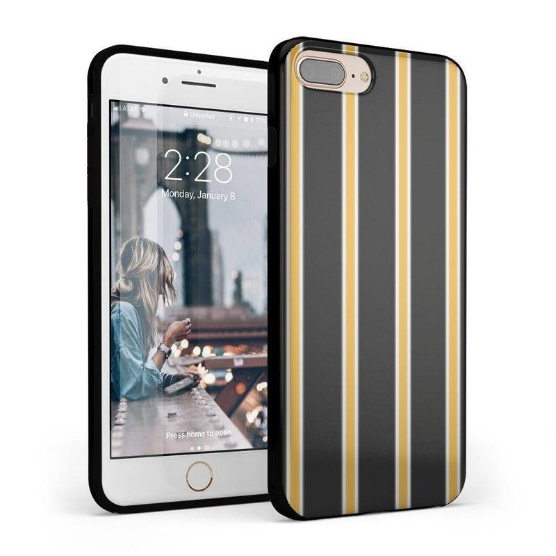 Fine Lines Mustard Yellow Pinstripe Case iPhone Case Get.Casely Classic iPhone 6/6s Plus