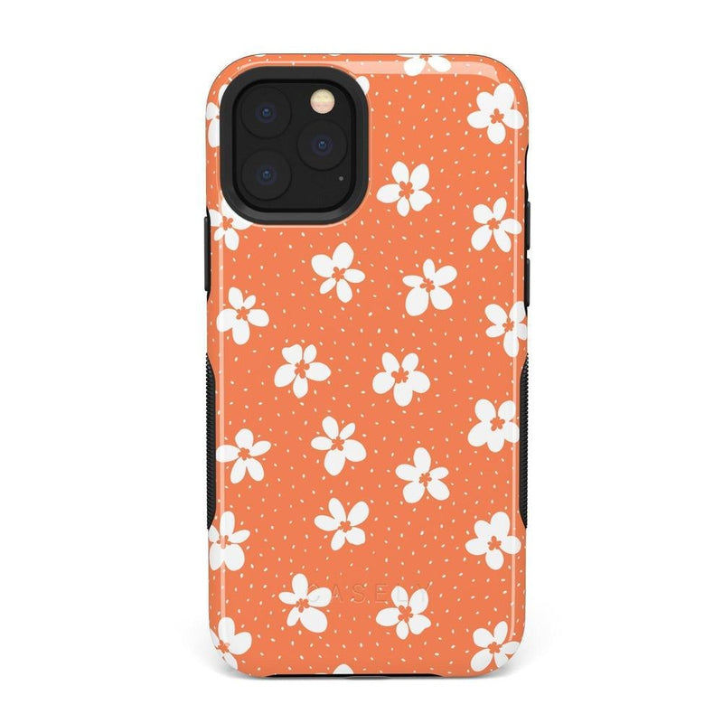 Flower My World | Burnt Orange Flower Case iPhone Case get.casely Bold iPhone 11 Pro Max