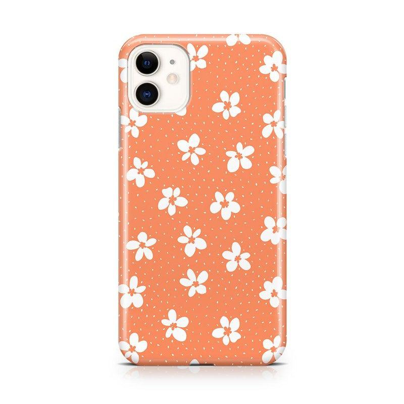Flower My World | Burnt Orange Flower Case iPhone Case get.casely Classic iPhone 11
